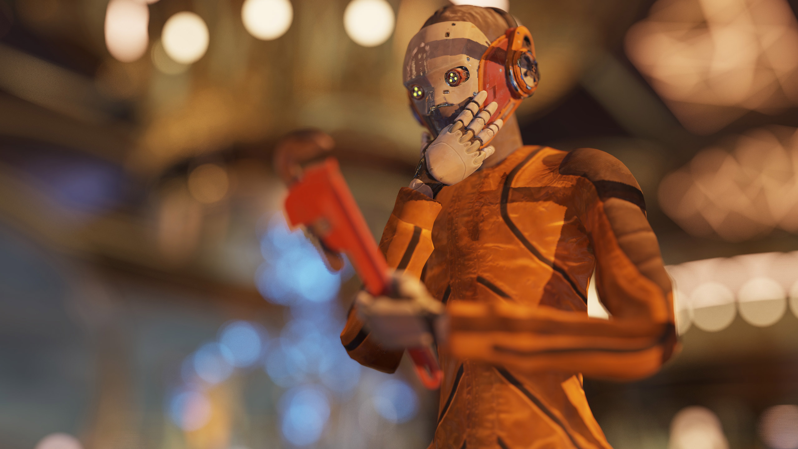 3DMark DirectX Raytracing feature test screenshot