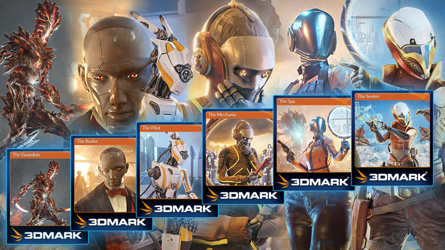 3DMark Trading Cards