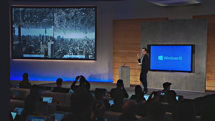 Microsoft demos DirectX 12 at Windows 10 press briefing