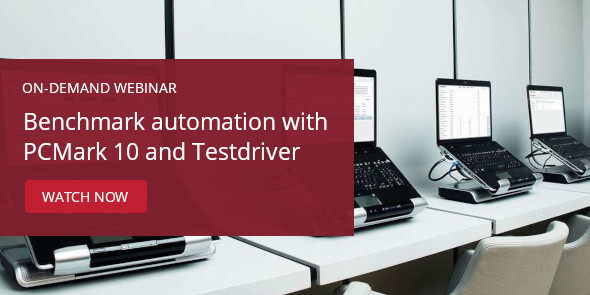 Testdriver Cloud Edition on-demand webinar banner